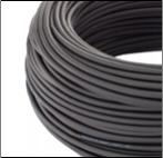 Солар кабель - черный, вид solar кабеля снаружи